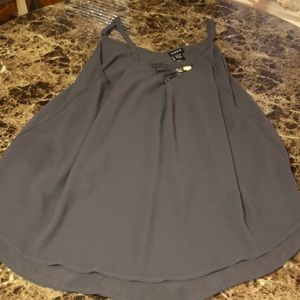 NWT Torrid Women's Grey Laceup